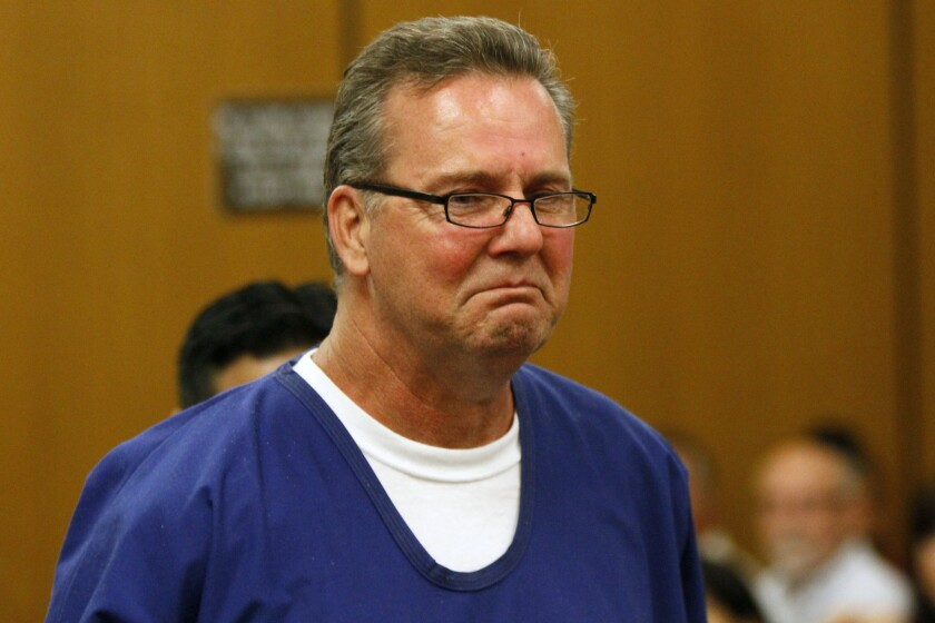 A federal appeals panel on Wednesday unanimously found that Frank O'Connell, shown in 2012, and another man may sue Los Angeles County after deputies failed to turn over exonerating evidence and the men were wrongfully convicted of crimes.