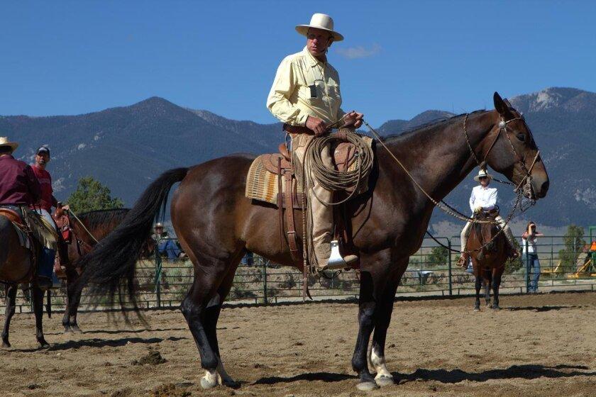 "Buck Brannaman in a scene from Cindy Meehl's 2011 documentary, ""Buck.""  Photo: Sundance Institute"