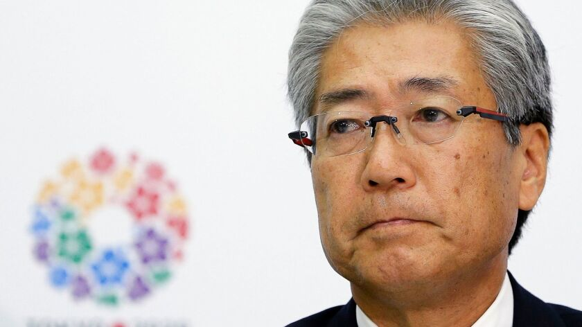 JOC president Tsunekazu Takeda investigated in france for corruption linked to 2020 Olympics, Tokyo, Japan - 23 Aug 2013