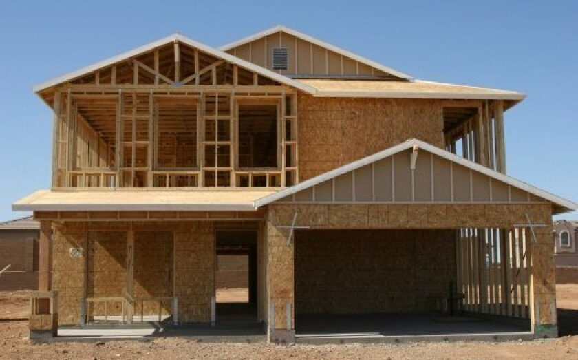 Low inventory spurs new home construction in San Diego.
