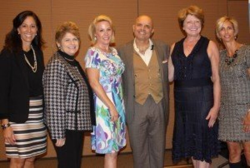 International Bipolar Foundation co-founder Lisa Weinreb, San Diego District Attorney Bonnie Dumanis (who attended, but did not speak), IBF co-founder Muffy Walker, speaker Joe Pantoliano, IBF co-founders Lynn Muto and Karen Sheffres. Photos by Ashley Mackin.