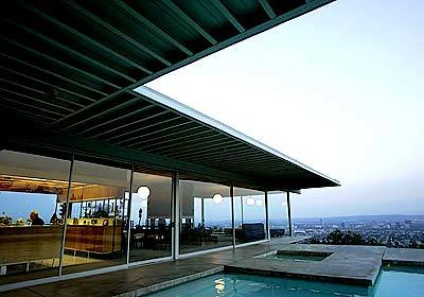 Designed by Pierre Koenig in 1958, the midcentury Modern Hollywood Hills home of Carlotta and Buck Stahl has been appearing in films for 42 years.
