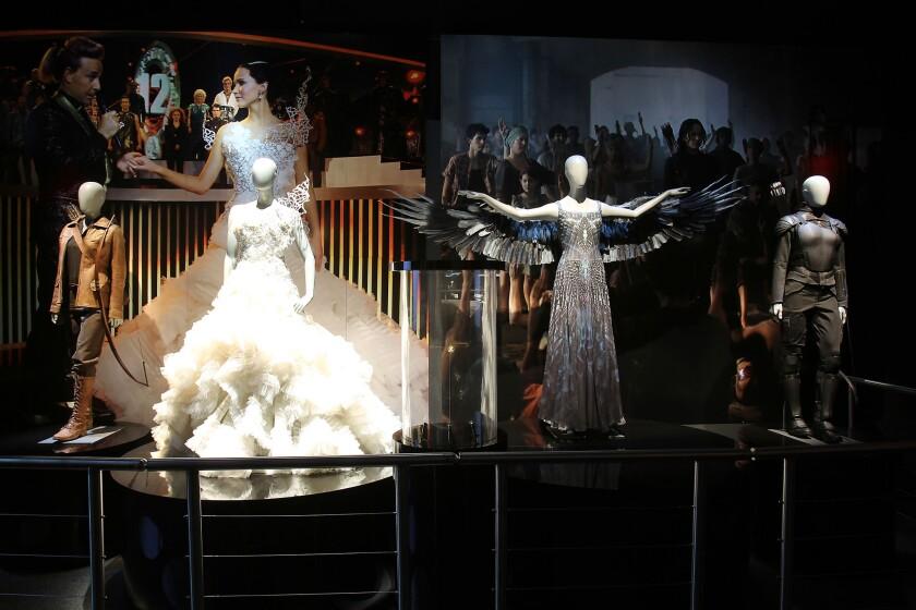 'Hunger Games' exhibit