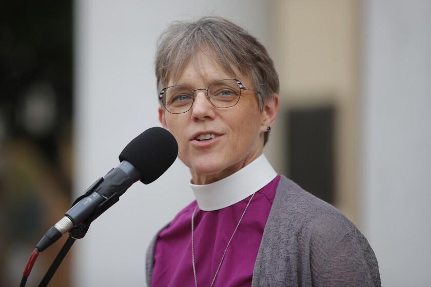 Bishop Mariann Edgar Budde of the Episcopal Diocese of Washington.
