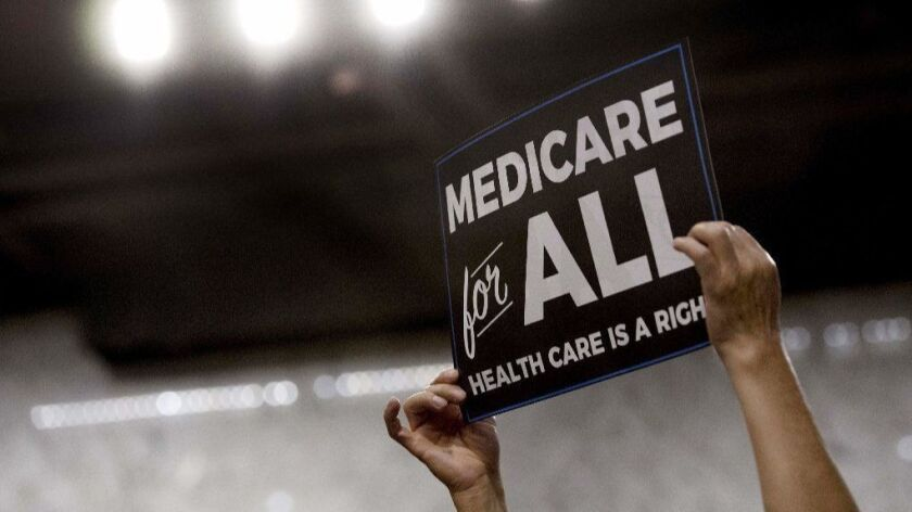 Democrats fail to explain how Medicare for all would fix things.
