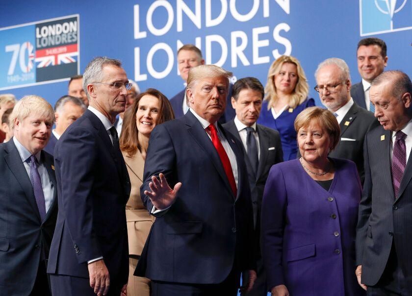 NATO summit in London