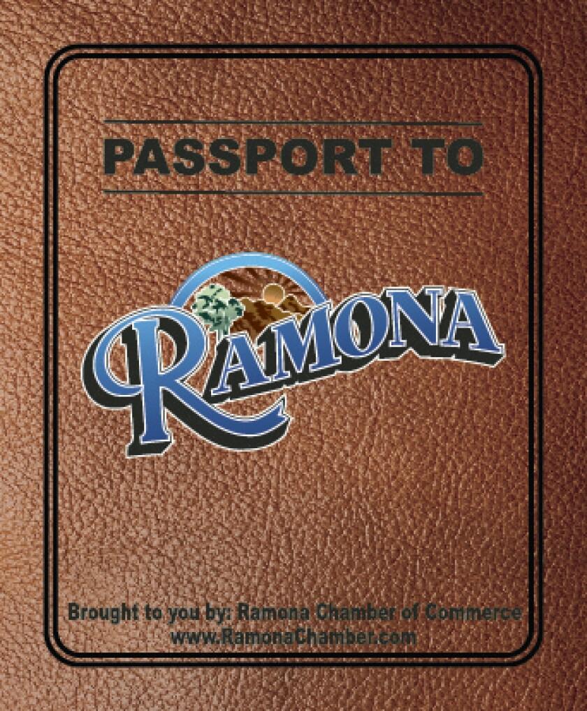 The Ramona Chamber of Commerce's Ramona Adventure Passport contest runs through Aug. 31.