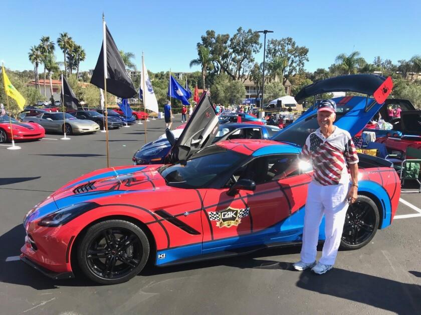 "North Coast Corvette Club's annual November ""Vettes for Veterans"" all Corvette Car Show."