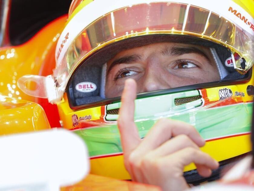El piloto español Roberto Merhi. EFE/Archivo
