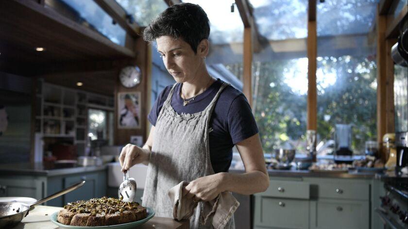 SANTA MONICA CA-February 7, 2019: Rustic Canyon's Zoe Nathan brings us inside her home as she bakes