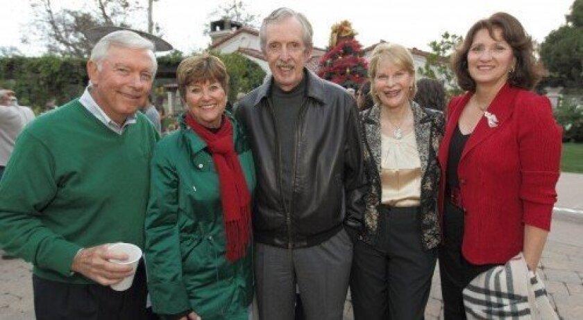 Jim and Bev Boyce, John and Pat Coseo, Helen DiZio