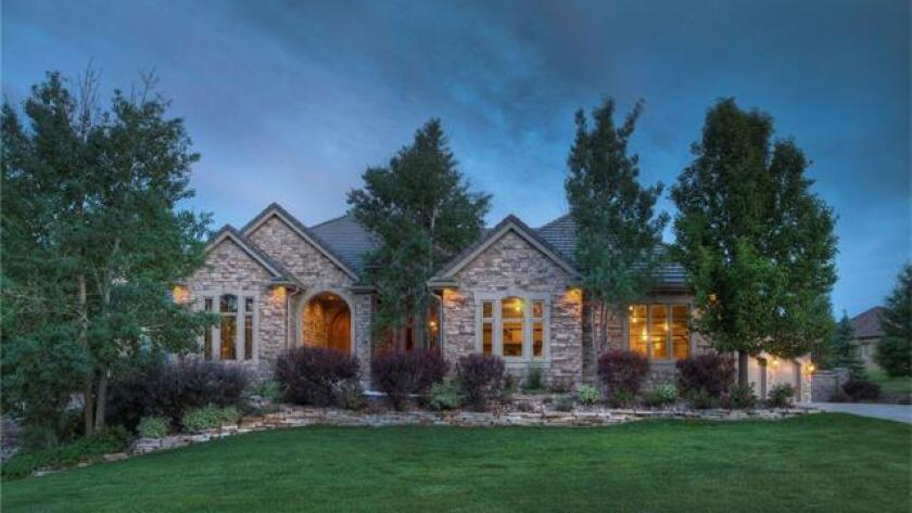 The Brighton, Colo., home is set on more than two acres and sold for $1.8 million.