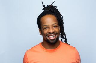 Jericho Brown at the 2019 Festival of Books
