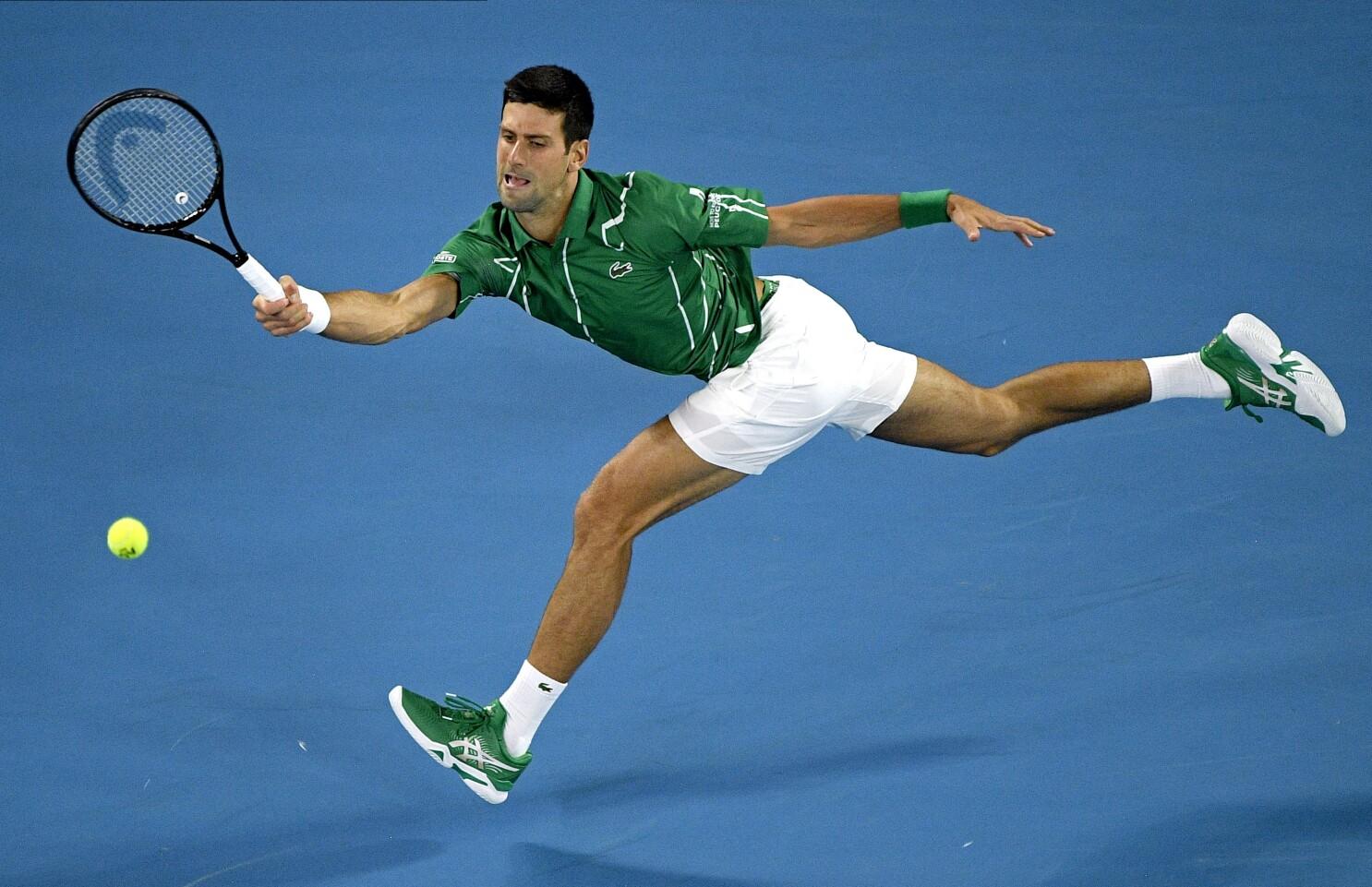 Us Open 2020 Novak Djokovic Seeded No 1 Eyes 18th Slam The San Diego Union Tribune