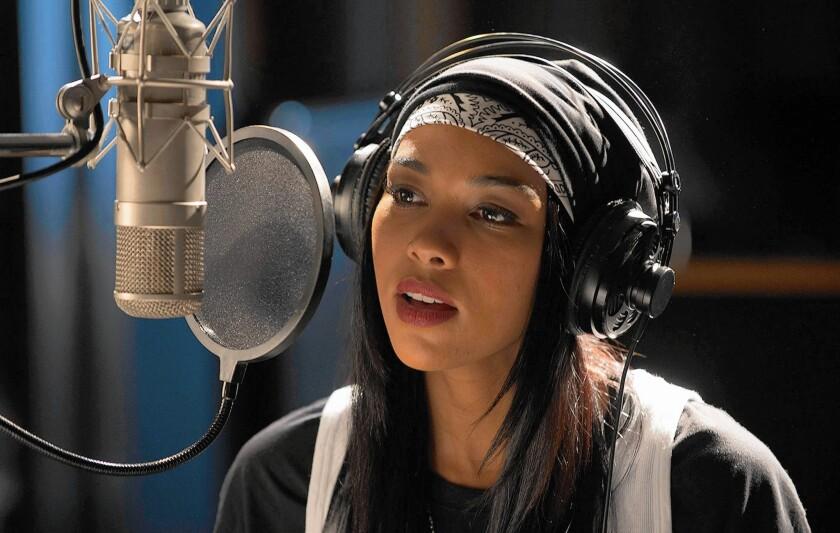 "Alexandra Shipp stars as the singer in Lifetime's ""Alaliyah."""