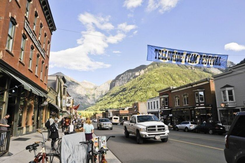 Telluride film buffs