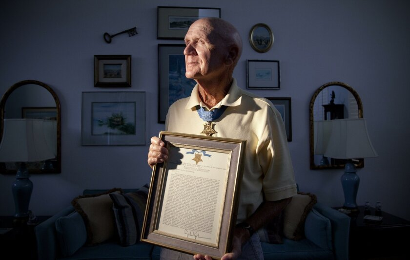Retired Marine Col. Robert Modrzejewski served in Vietnam and is the recipient of the Medal of Honor for his actions as Company Commander of infantry Marines.
