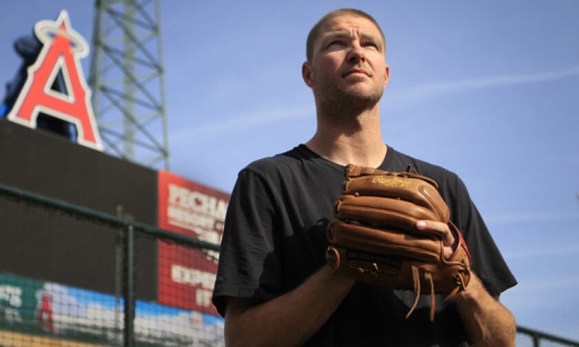 The Angels parted ways with reliever Ryan Madson on Monday.