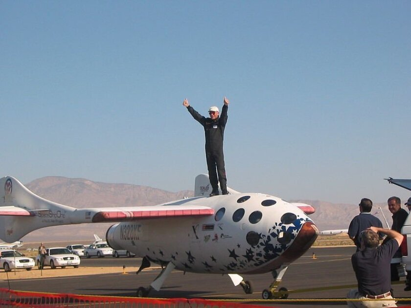 In 2004, Burt Rutan won the $10 million Ansari X Prize for producing a private suborbital space craft.