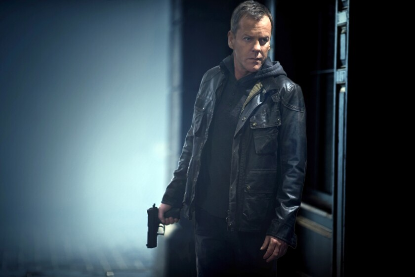 "Kiefer Sutherland in ""24: Live Another Day"" on Fox."