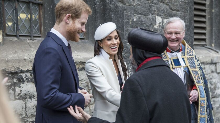 On March 12, 2018 Prince Harry and Meghan Markle met with religious leaders after the Commonwealth Service at Westminster Abbey in London. Speculation continues about the details of their wedding.