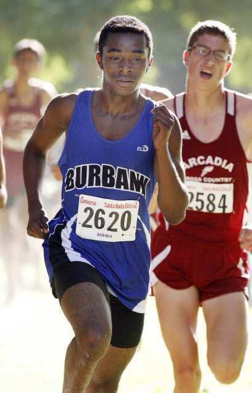 Burbank looks ready in boys' cross-country