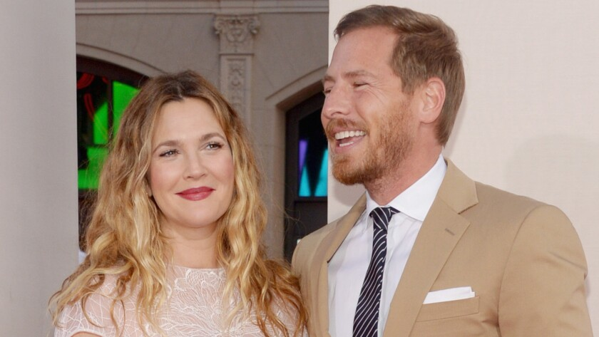 "Drew Barrymore and Will Kopelman at the Hollywood premiere of ""Blended"" in 2014."