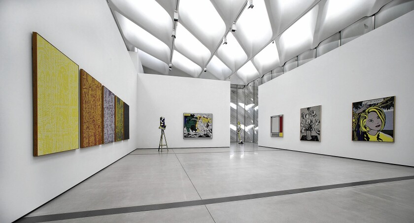 An early look in the Broad museum reveals a show that doesn't quite gel