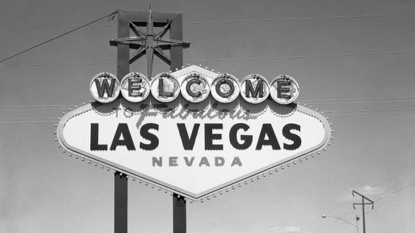 2/22/1960 Welcome to Fabulous Las Vegas Sign designed by Betty Willis for Western Sign Company in