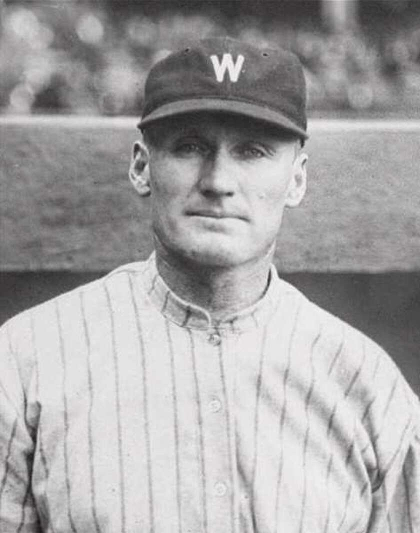 Did Walter Johnson accomplish a famous George Washington myth?