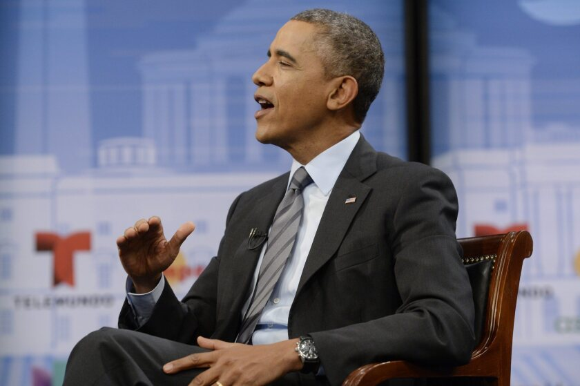 President Obama talks about the Affordable Care Act
