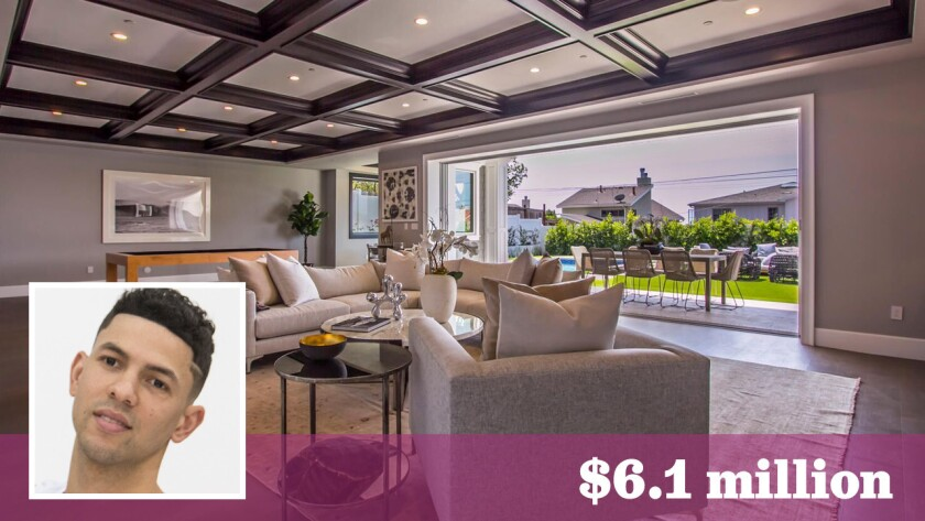 Los Angeles Clippers guard Austin Rivers has paid $6.1 million for a newly built home in Pacific Palisades.