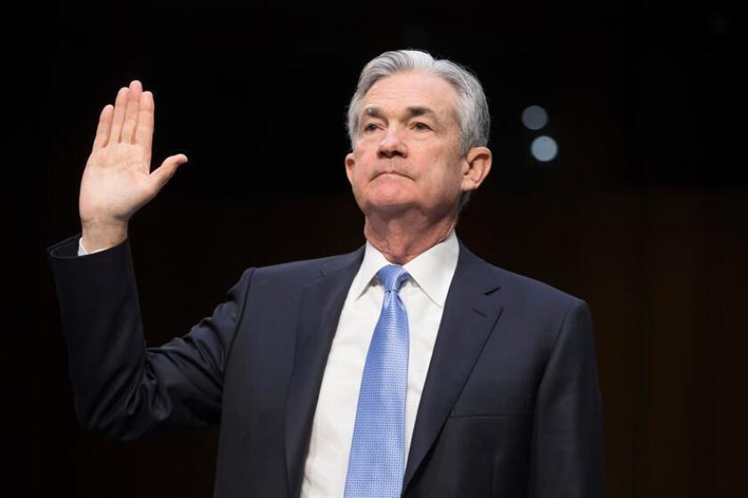 Jerome Powell, presidente de la Reserva Federal (Fed). EFE/Archivo