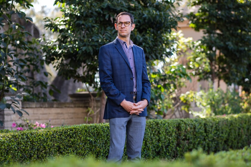 Andrew Utt will become the executive director of the newly formed The Institute of Contemporary Art, San Diego.