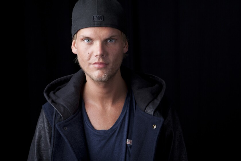 Swedish DJ-producer, Avicii poses for a portrait in New York.