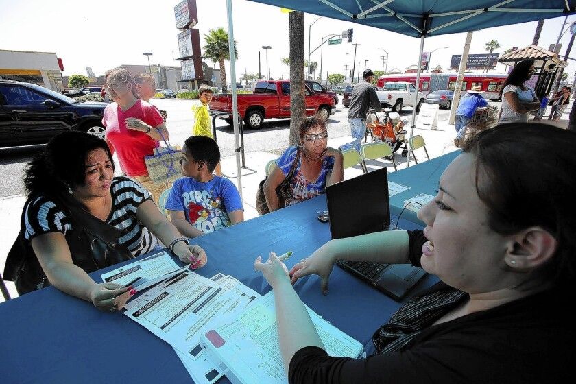 Health sign-ups in state draw to a close