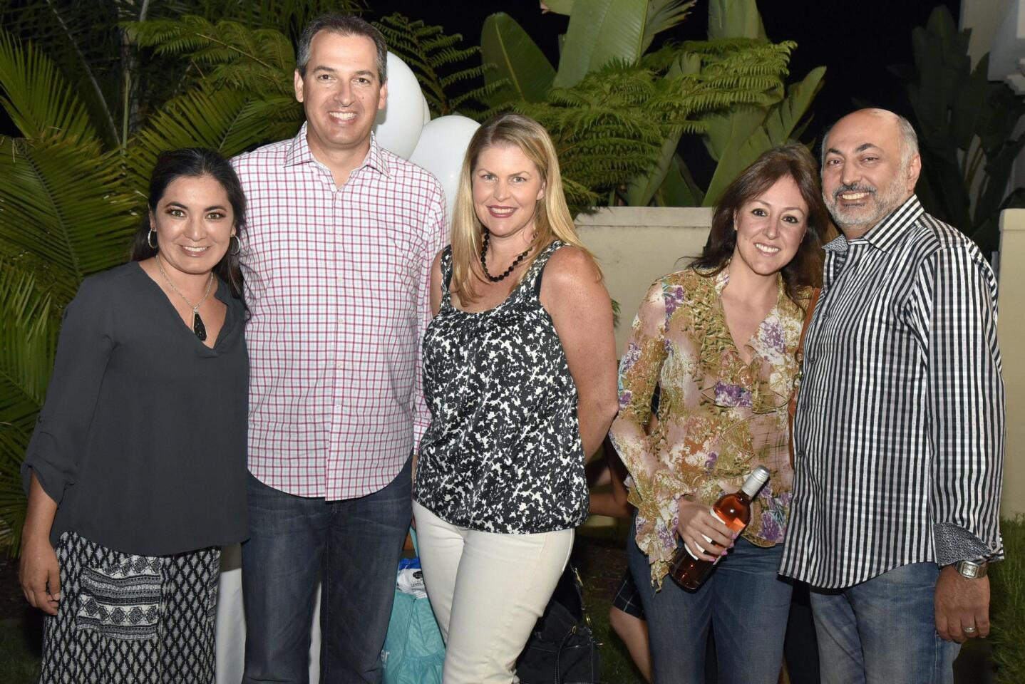Sarai Marcelin, Jon and Natalie McPheters, Kathy and Robert Yasmeh