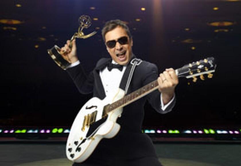 Jimmy Fallon hosts the 62nd Primetime Emmy Awards Sunday on NBC.