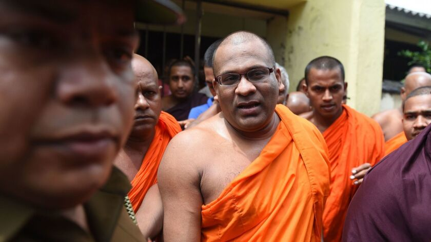 FILES-SRI LANKA-ASIA-RELIGION-UNREST-MYANMAR