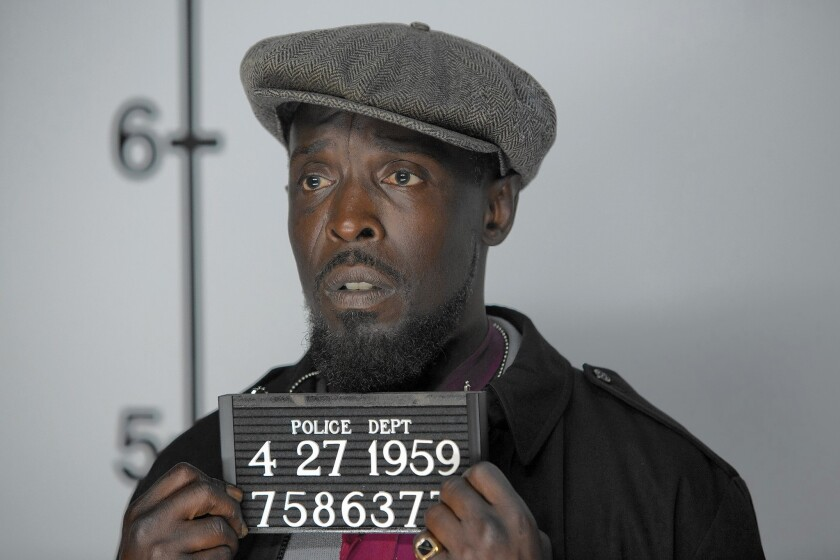 """Michael K. Williams in """"The Spoils Before Dying"""""""