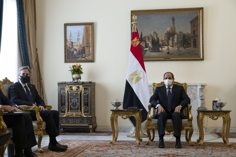Coup leader, king, indictee: In Middle East, Blinken navigates fraught relationships needed to avert war
