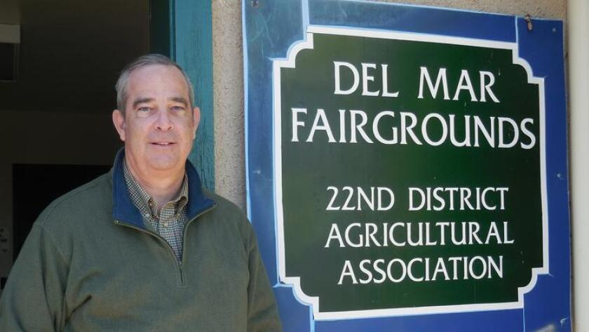 Russ Penniman, board president of the 22nd District Agricultural Association.
