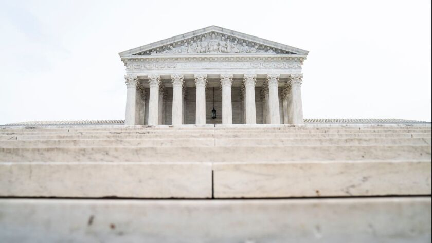 The Supreme Court building in Washington on Jan. 7.