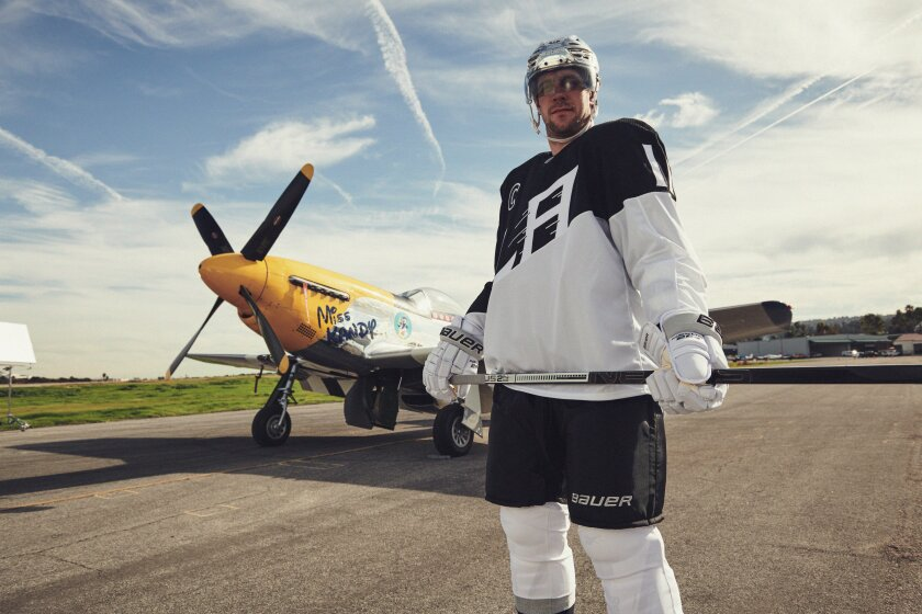 Kings' Stadium Series jerseys honor aviation industry