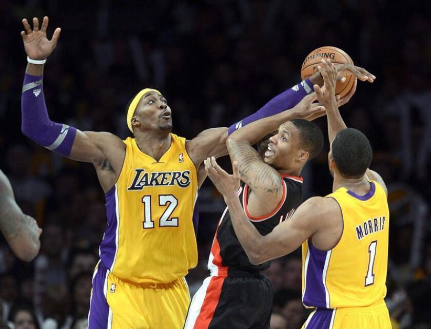 103-108. Lillard silencia al Staples Center y corta racha ganadora de Lakers