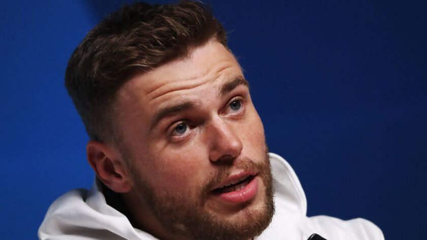 United States freestyle skier Gus Kenworthy came out in a cover story in ESPN The Magazine in 2015.