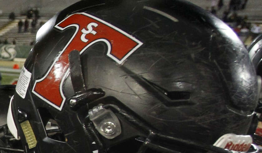 San Clemente helmet