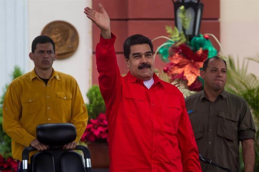 """Estados Unidos acusó hoy al presidente de Venezuela, Nicolás Maduro, de querer consolidar el poder de su """"dictadura"""" mediante la prohibición de partidos opositores de cara a los comicios presidenciales de 2018. EFE/ARCHIVO"""