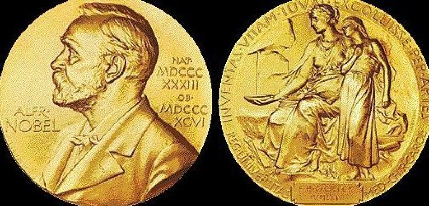 The  Nobel Prize awarded to Francis Crick in 1962 is made of 23-karat gold.