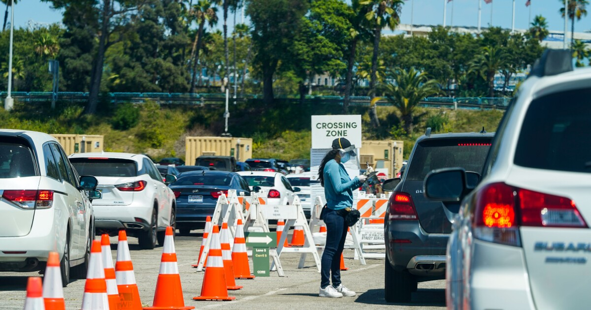 Backlog in reporting of test results swells coronavirus case count in L.A. County